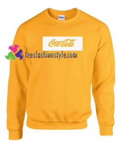 Coca-Cola Sweatshirt Gift sweater adult unisex cool tee shirts