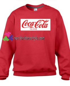 Coca Cola Trademark Sweatshirt Gift sweater adult unisex cool tee shirts