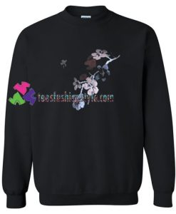 Flower Sweatshirt Gift sweater adult unisex cool tee shirts