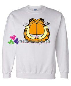 Garfield Cat Cartoon Sweatshirt Gift sweater adult unisex cool tee shirts