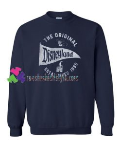 The Original Disneyland Established 1955 Sweatshirt Gift sweater adult unisex cool tee shirts