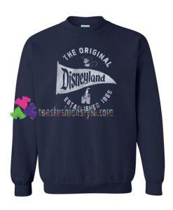 The Original Disneyland Established 1955 Sweatshirt Gift sweater adult unisex cool tee shirts