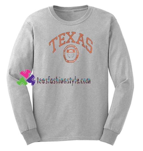 The University of Texas Sweatshirt Gift sweater adult unisex cool tee shirts