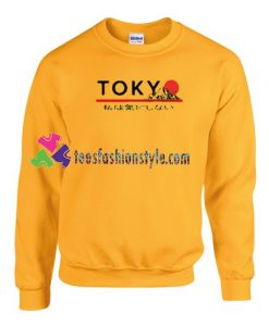 Tokyo Japanese Mountain Sweatshirt Gift sweater adult unisex cool tee shirts