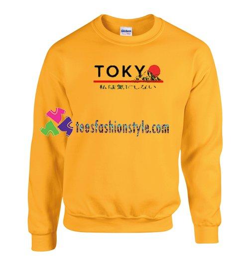 Tokyo Japanese Mountain Sweatshirt Gift sweater adult unisex cool tee shirts