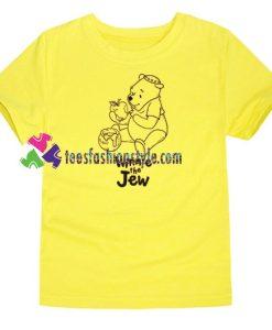 Winnie the Jew Rosh Hashanah Shirt gift tees unisex adult cool tee shirts