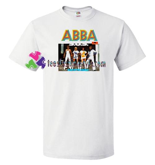 Abba SOS T Shirt gift tees unisex adult cool tee shirts