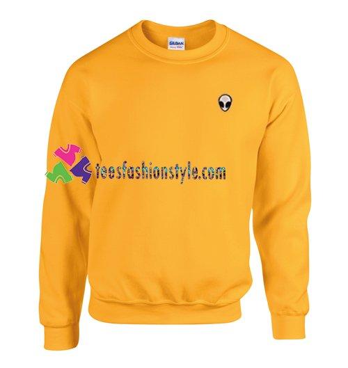 Alien Head Sweatshirt Gift sweater adult unisex cool tee shirts