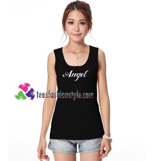 Angel Tanktop gift tanktop shirt unisex custom clothing Size S-3XL