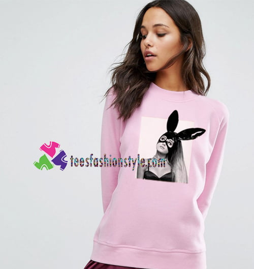 Ariana Grande's Dangerous Tour Light Pink Sweatshirt Gift sweater adult unisex cool tee shirts