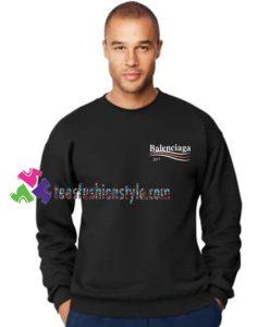 Balenciaga 2017 Sweatshirt Gift sweater adult unisex cool tee shirts