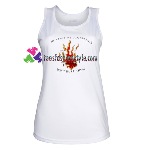 Be Kind To Animals TankTop gift tanktop shirt unisex custom clothing Size S-3XL