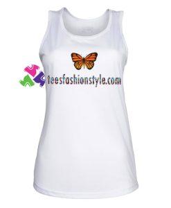 Butterfly Tank Top gift tanktop shirt unisex custom clothing Size S-3XL
