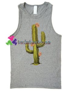 Cactus Tank Top gift tanktop shirt unisex custom clothing Size S-3XL