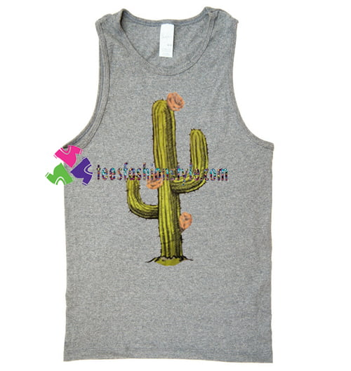 Cactus Tank Top gift tanktop shirt unisex custom clothing Size S-3XL
