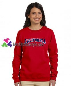 California Sweatshirt Gift sweater adult unisex cool tee shirts