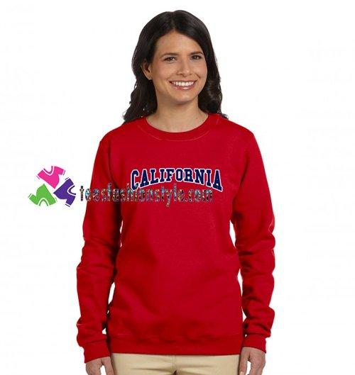 California Sweatshirt Gift sweater adult unisex cool tee shirts