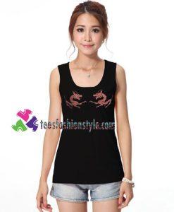 Dragon Tank Top gift tanktop shirt unisex custom clothing Size S-3XL