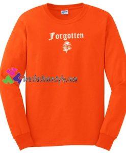 Forgotten Rose Sweatshirt Gift sweater adult unisex cool tee shirts