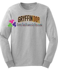 Gryffindor Harry Potter Sweatshirt Gift sweater adult unisex cool tee shirts