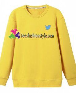 Twitter Logo Sweatshirt Gift sweater adult unisex cool tee shirts