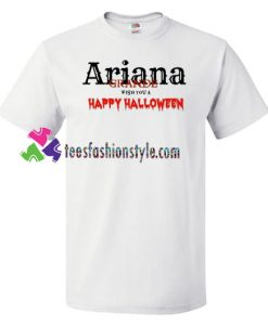 Wish You a Happy Halloween Shirt, Ariana Grande Shirt gift tees unisex adult cool tee shirts