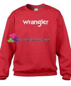 Wrangler Logo Sweatshirt Gift sweater adult unisex cool tee shirts