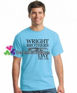 Wright Brothers Day December 17th Fun Aviation Celebration T Shirt gift tees unisex adult cool tee shirts