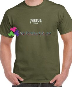 Yeezus Tour T Shirts gift tees unisex adult cool tee shirts