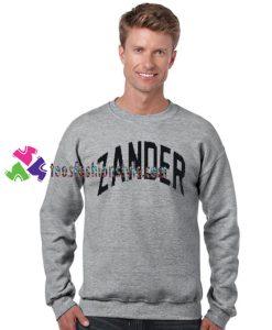 Zander Sweatshirt Gift sweater adult unisex cool tee shirts