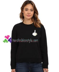 Fucking Finger Sweatshirt Gift sweater adult unisex cool tee shirts