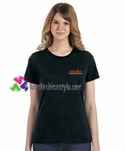 Aloha Line T Shirt gift tees unisex adult cool tee shirts