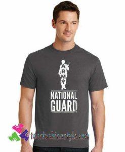 Army National Guard T Shirt Military Birthday Shirt gift tees unisex adult cool tee shirts