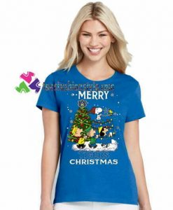 Auburn Tigers Snoopy And Friends Merry Christmas T Shirt gift tees unisex adult cool tee shirts