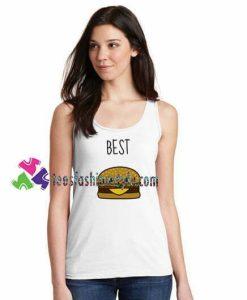 Best Hamburger Tank top gift tanktop shirt unisex custom clothing Size S-3XL