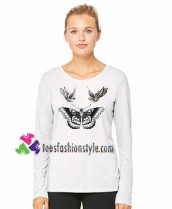 Butterfly Sweatshirt Harry Style Sweatshirt Gift sweater adult unisex cool tee shirts