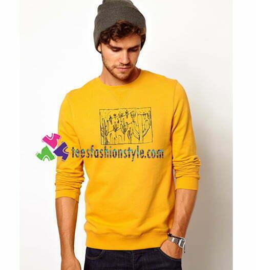 Cactus Sweatshirt Gift sweater adult unisex cool tee shirts