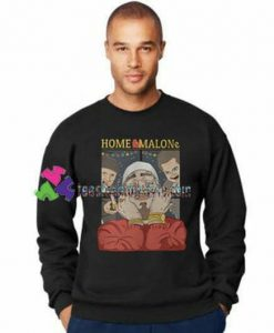 Christmas Home Malone Sweatshirt Gift sweater adult unisex cool tee shirts
