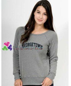 Georgetown Sweatshirt Gift sweater adult unisex cool tee shirts