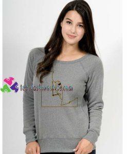 Girl Smoking Sweatshirt Gift sweater adult unisex cool tee shirts