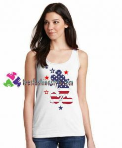 Mickey Mouse USA Tank Top gift tanktop shirt unisex custom clothing Size S-3XL