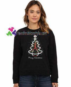 Stethoscope Christmas tree Merry Christmas nurse sweatshirt Gift sweater adult unisex cool tee shirts