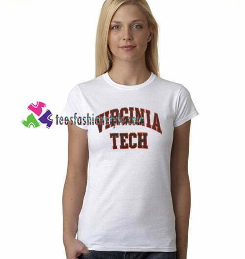 Virginia Tech T Shirt gift tees unisex adult cool tee shirts