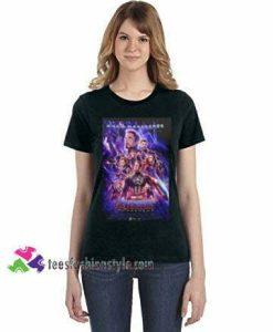 Avengers Endgame Movie Poster Superhero TShirt tee shirt