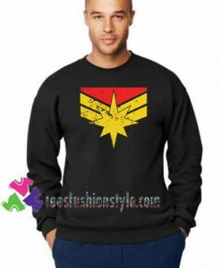 Captain Marvel, Sweatshirt Gift sweater adult unisex cool tee shirts