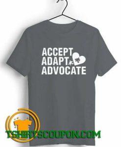 Accept Adapt Advocate Autism Awareness Teacher Special Education