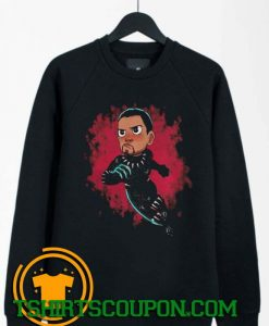 Chibi Black Panther Sweatshirt By Tshirtscoupon.com