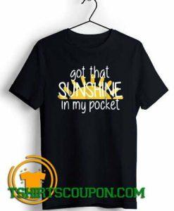 Got That Sunshine In My Pocket Summer