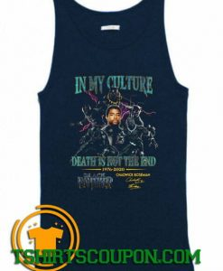 Chadwick Boseman Black Panther Signature Tank Top