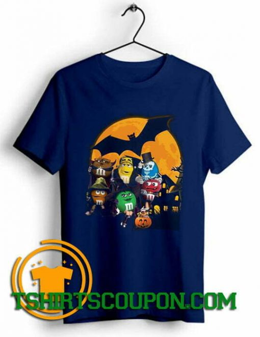 Buy Now M&M Candy Halloween Pumpkin Bat Unique trends tees shirts. Unique trends tees shirts for guys, Unique trends tees shirts